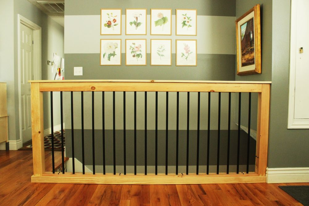 Diy Stair Handrail With