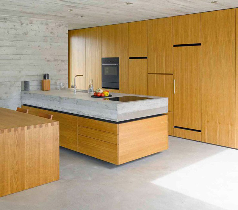 Cement countertops the focal points of contemporary - Zampieri cucine opinioni ...
