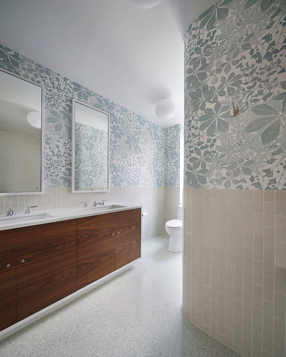 Well-known 15 Reasons To Love Bathroom Wallpaper OI16