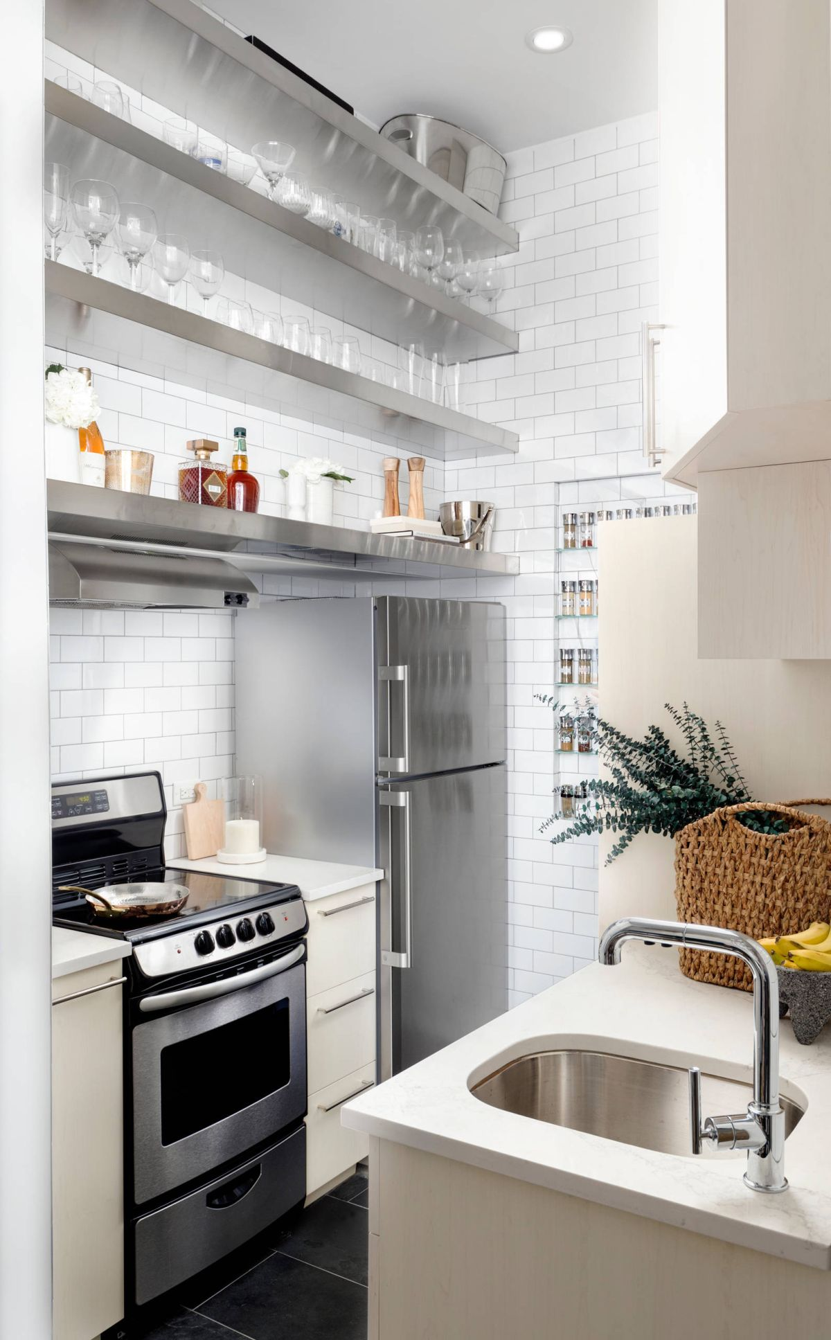 12 Tips To Make The Most Your Galley Kitchen