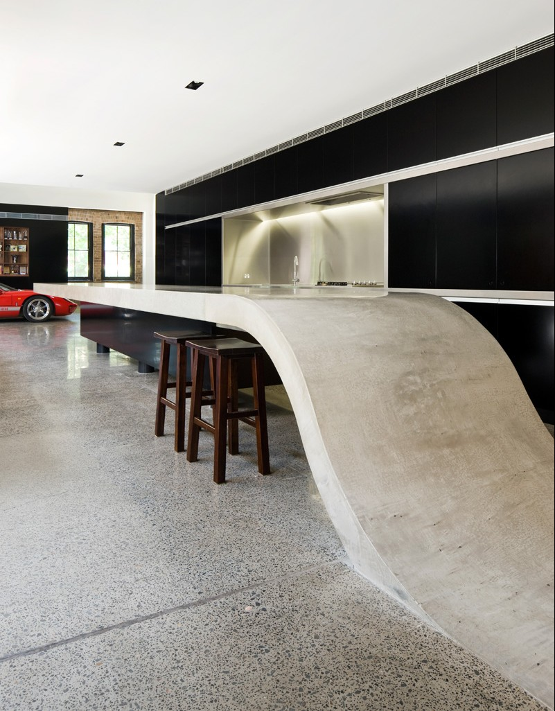 Cement Countertops   The Focal Points Of Contemporary Minimalism