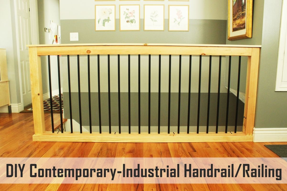 Diy stair handrail with industrial pipes and wood view in gallery solutioingenieria Images