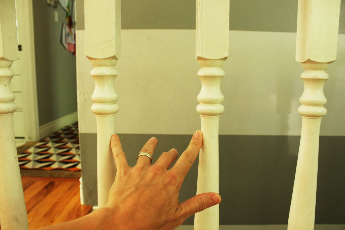 DIY Stair Railing  Significant Safety Issue Facing This Original Railing