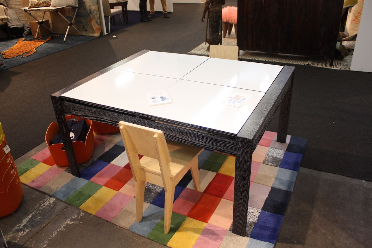 What kid wouldn't want to create and play at this table?
