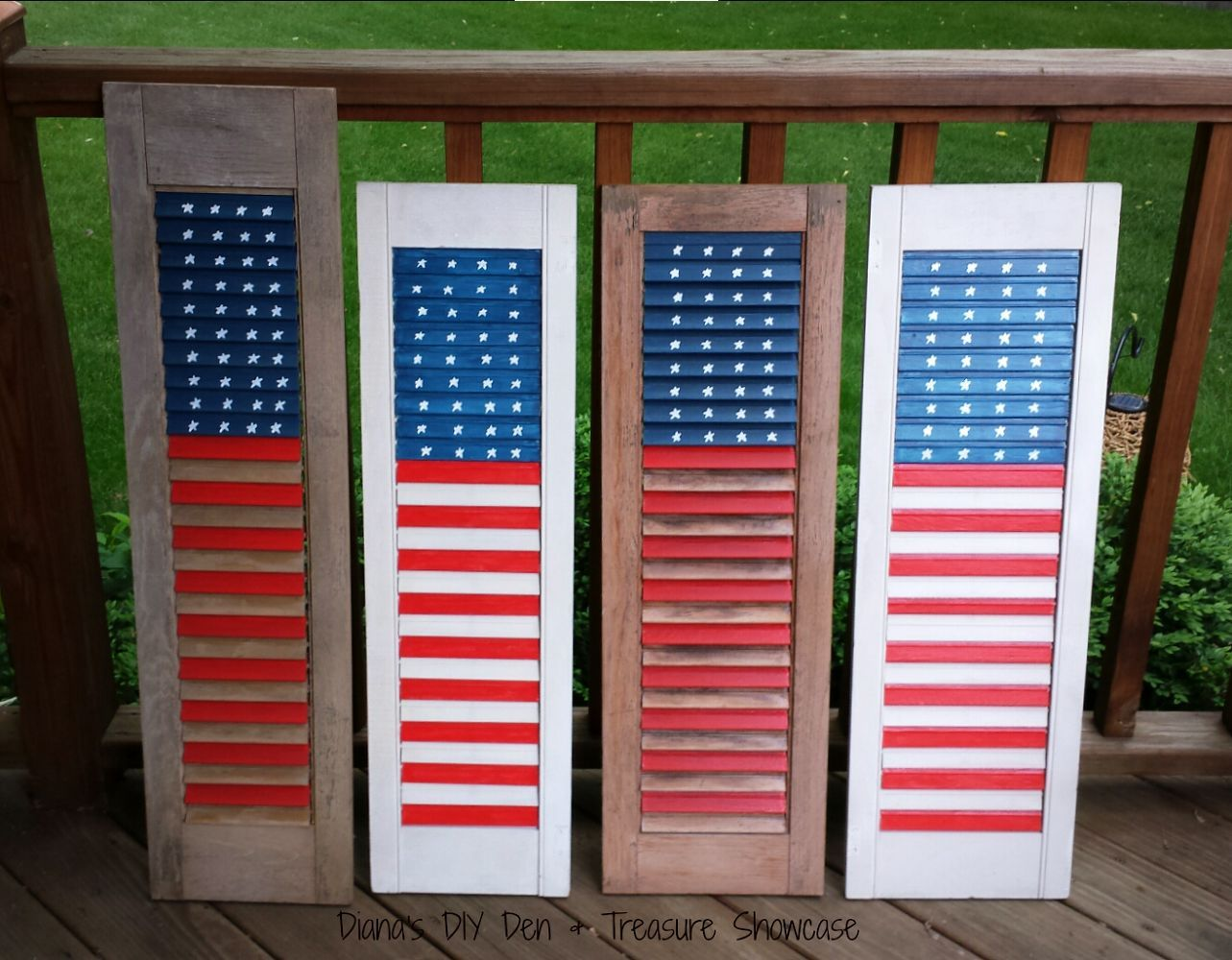 36 ways to repurpose window shutters into something better for Window shutter crafts