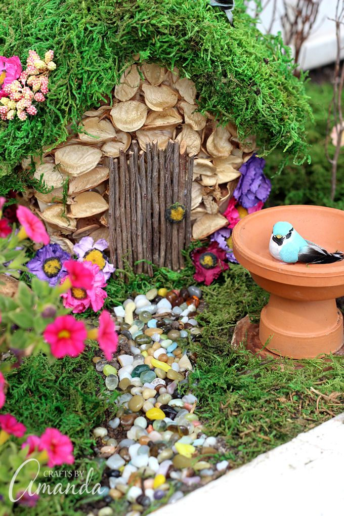 cute diy fairy gardens open doors to magical places - Diy Fairy Garden