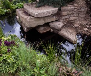 Rocks and water make a great duo so be inspired by this when shaping your garden