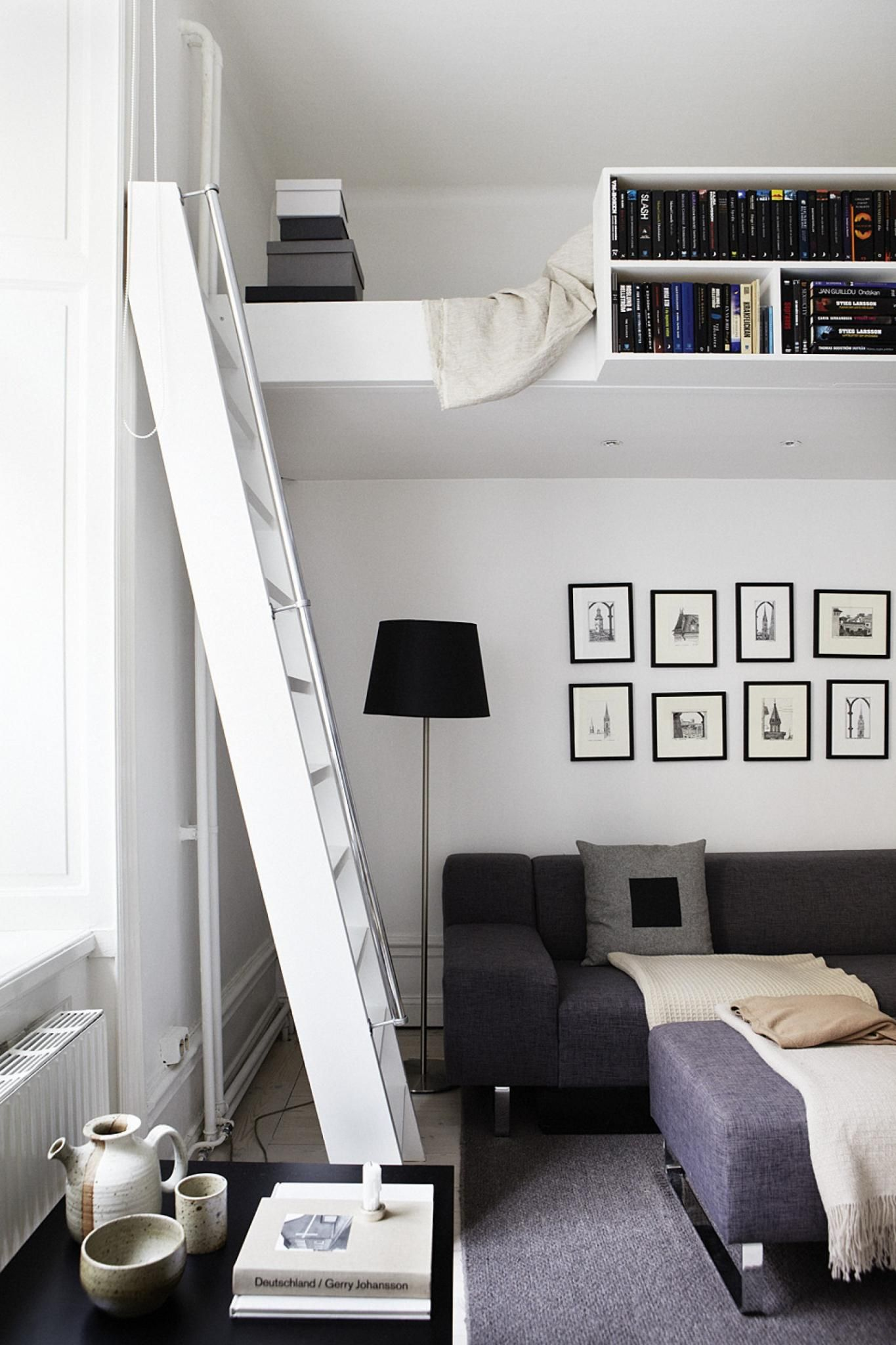 Great ways to transform small spaces with adult loft beds - How to furnish a small bedroom ...