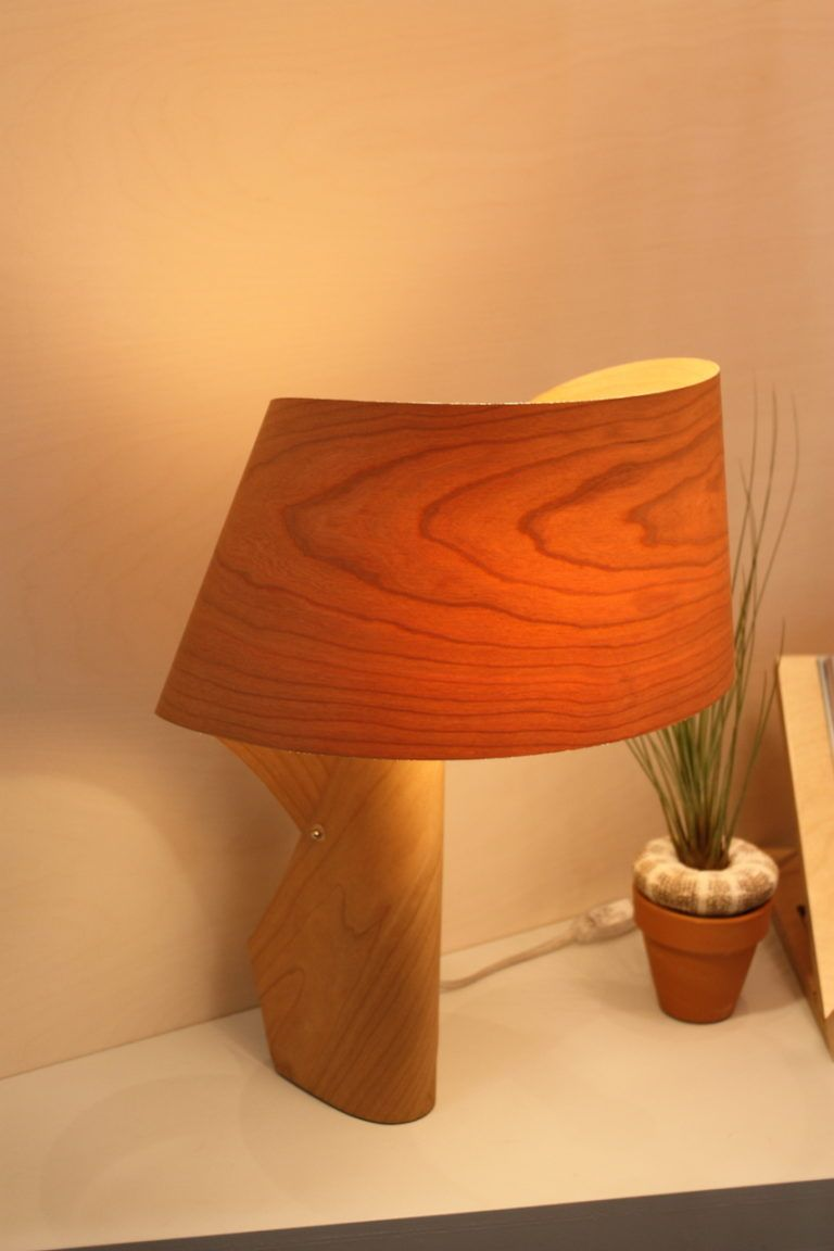 The lights made from this material are really creative.