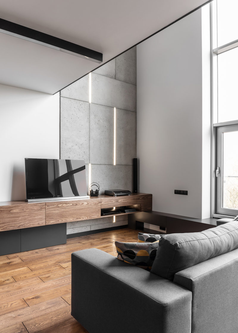 A Masculine Apartment Enriched With Personal Collections