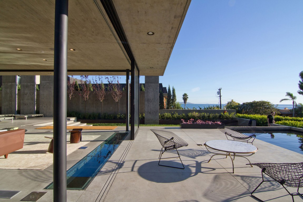 modern concrete patio designs. View In Gallery. Addition To A Large Concrete Patio, This Contemporary Modern Patio Designs