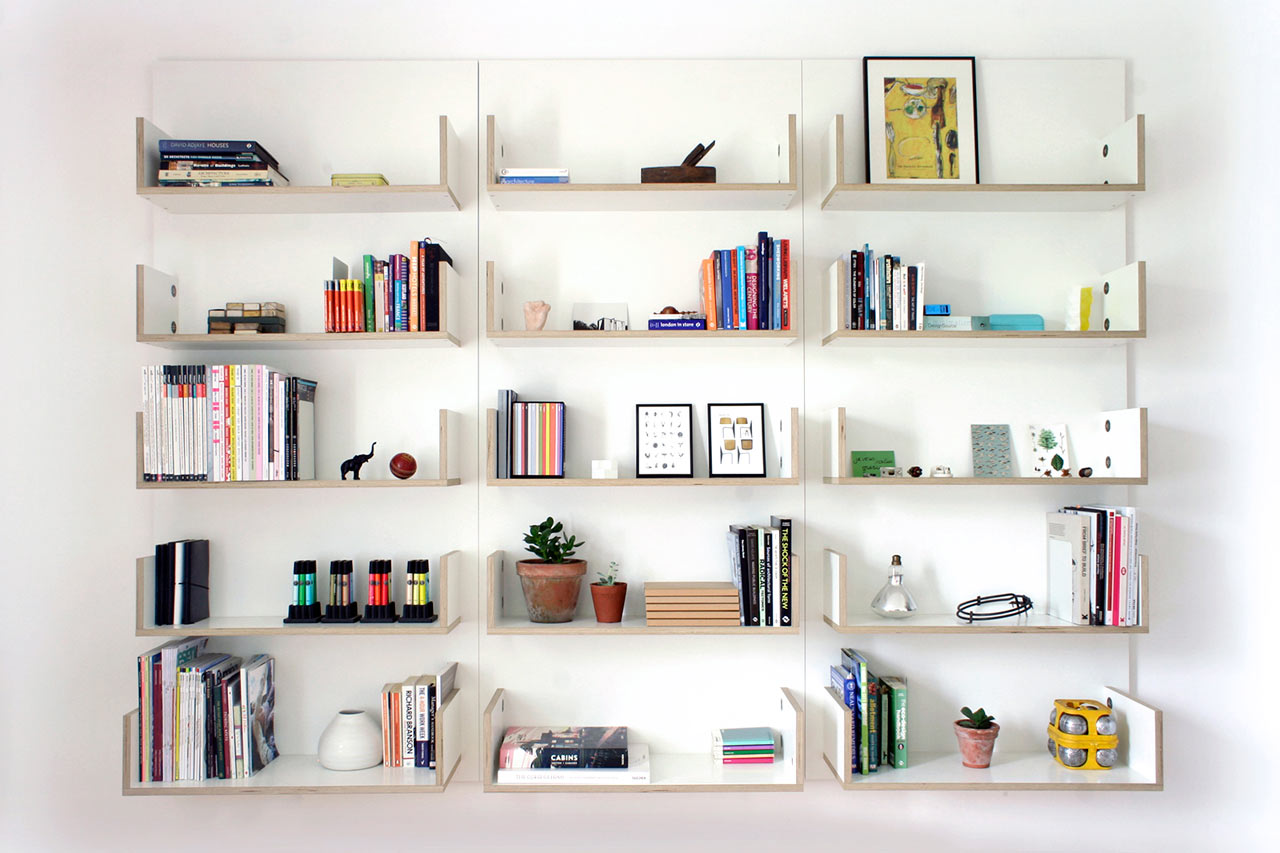 Exceptional Modular Shelving Units That Grow With Your Collections Home Design Ideas