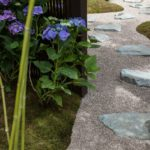 River rocks and large boulders to create a pathway