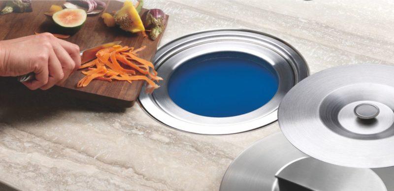 Modern Kitchen Trash Can Ideas For Good Waste Management