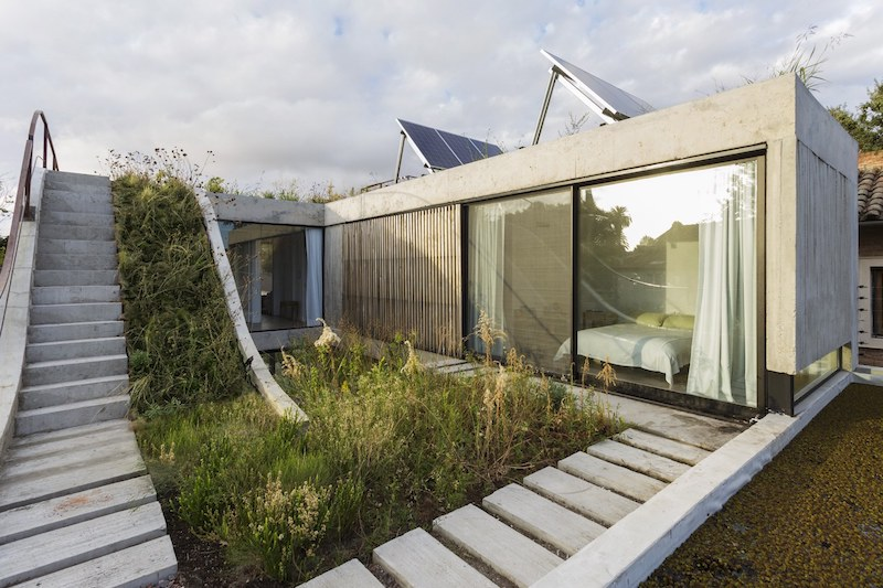 ... The Architecture Of The House Is Shaped By The Owneru0027s Passion For  Landscaping Ideas