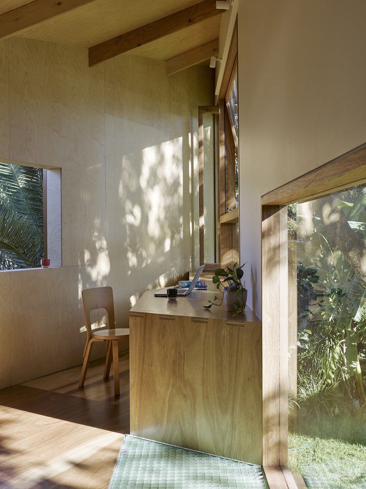 This is no typical treehouse and you can tell that by how bright and light-filled it is