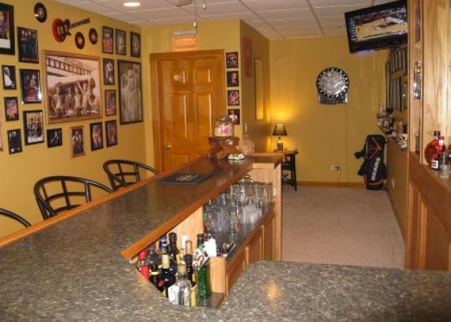 Under The Bar Storage basement bar