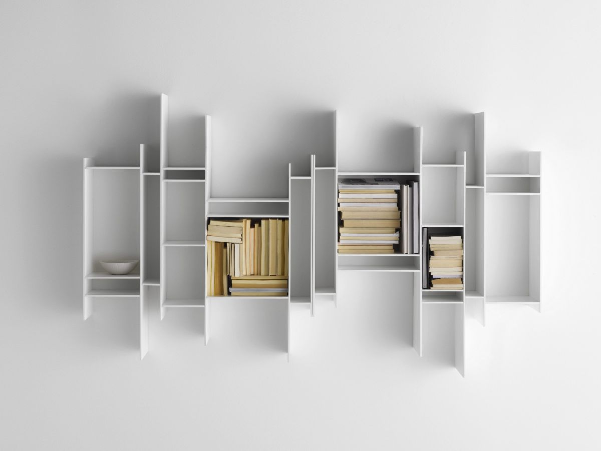 Modular Wall Shelving Modular Shelving Units That Grow With Your Collections