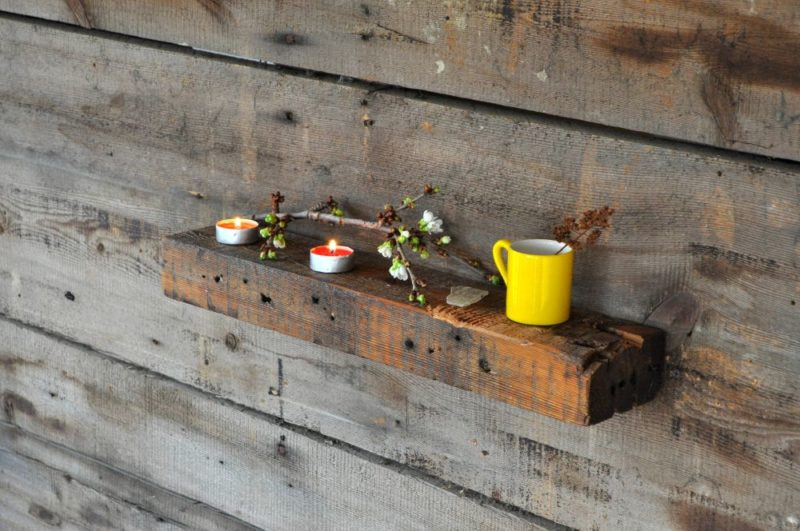 Charming Rustic Shelves And How To Add Them To Modern Spaces
