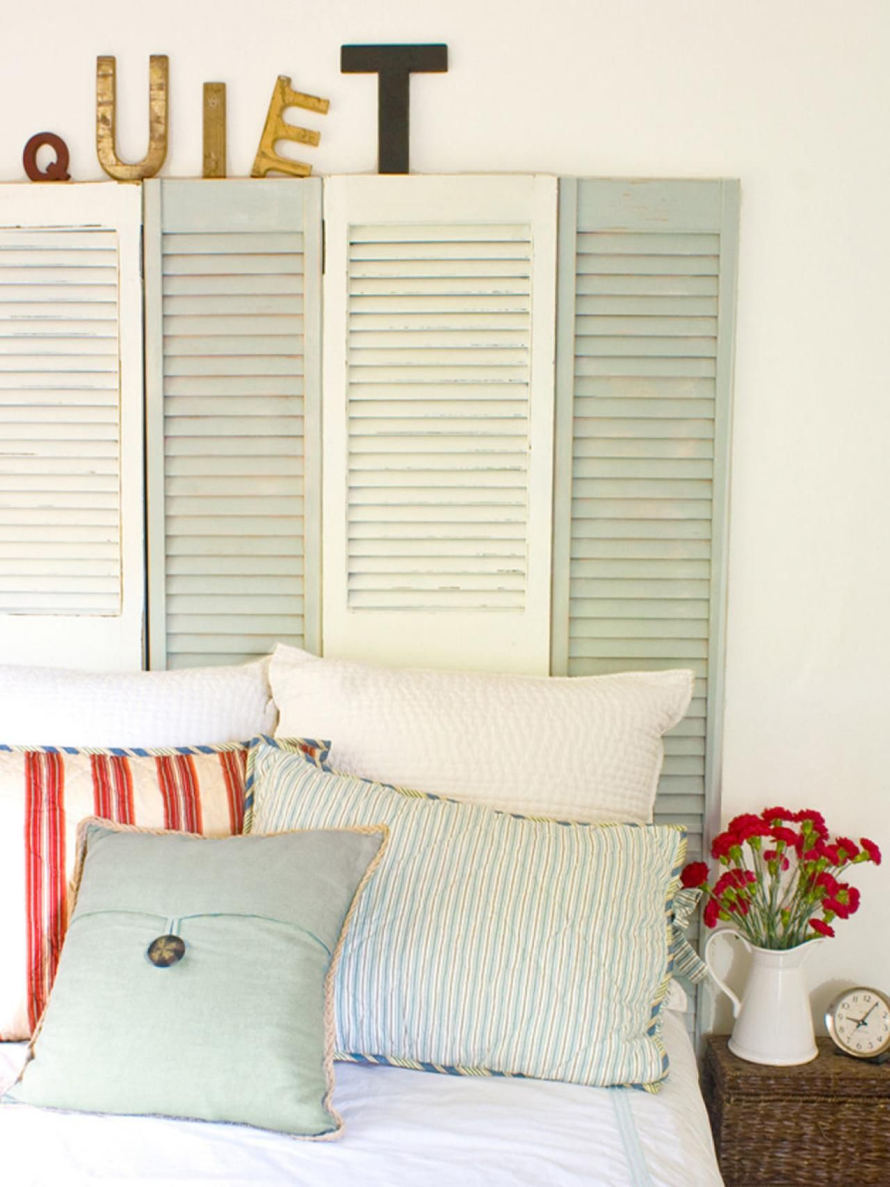Diy Circuit Board Table Decor Nifty Ideas Crafty Crafts Pin 36 Ways To Repurpose Window Shutters Into Something Better View In Gallery