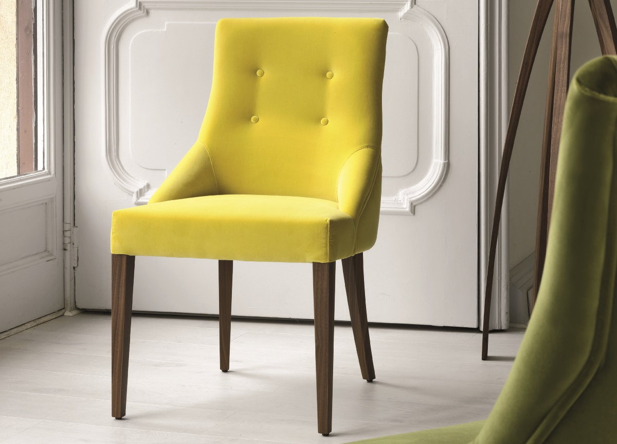 yellow dining chairs upholstered dining chairs when style meets ergonomics 11663
