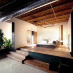 barcelona platform bed elevated design