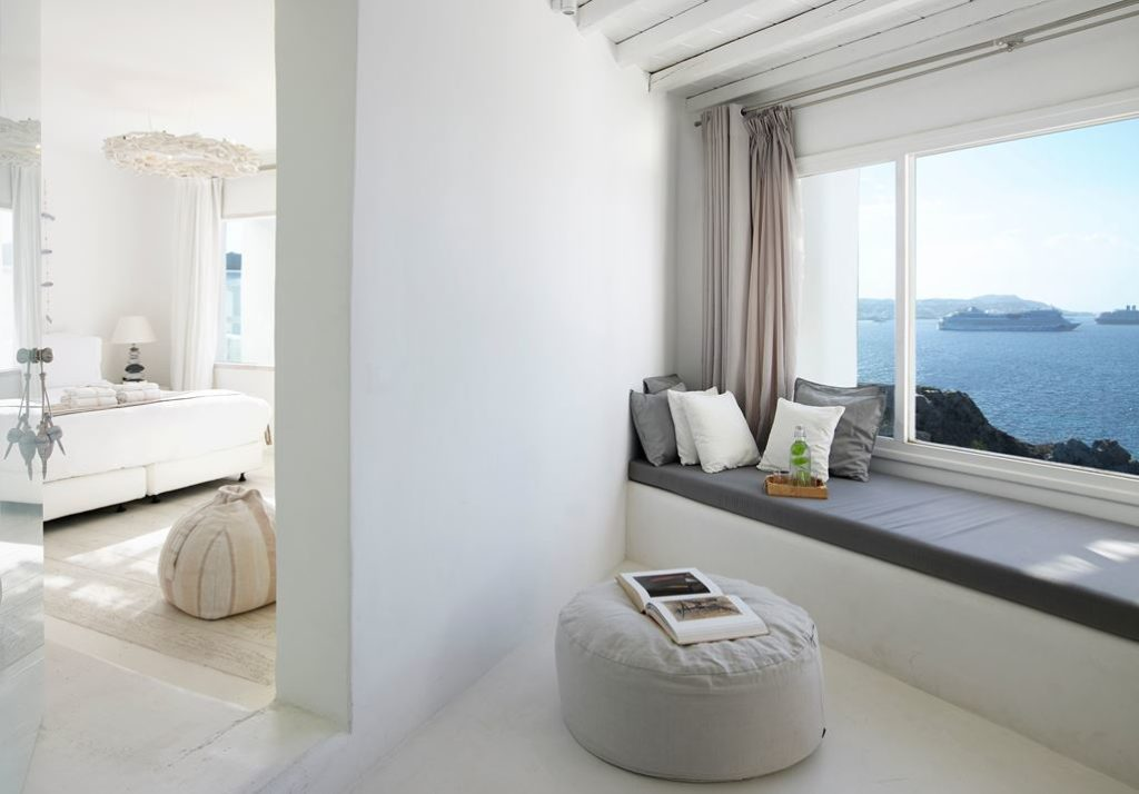 Suites also have additional living space.