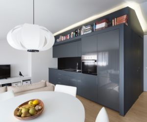 Small Portuguese Apartment Features Big Style, High Function