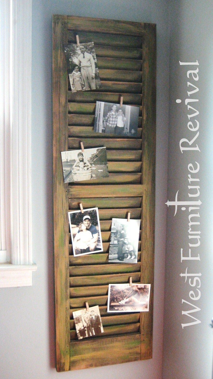 photo How to Turn Shutters Into a Pretty Cabinet