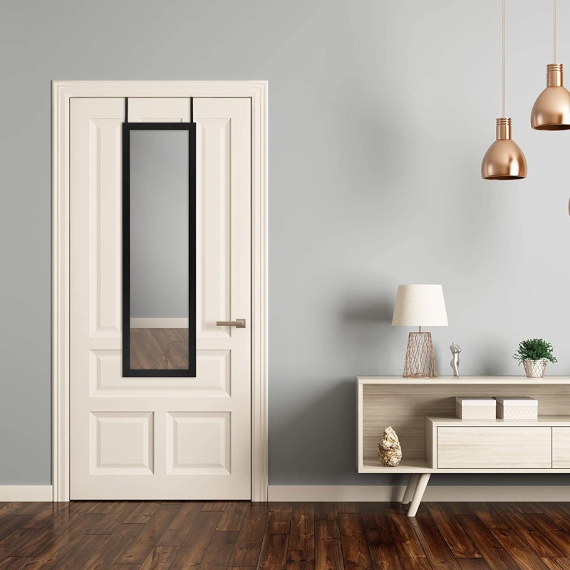 Saving Space And Gaining Style With Over-The-Door Mirrors