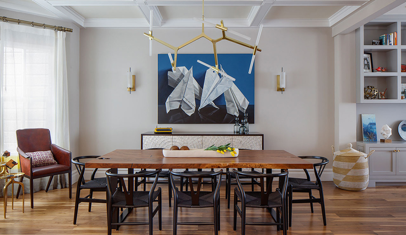 Dining Room Wall Art Ideas Inspired By Existing Projects Custom Art Dining Room Furniture