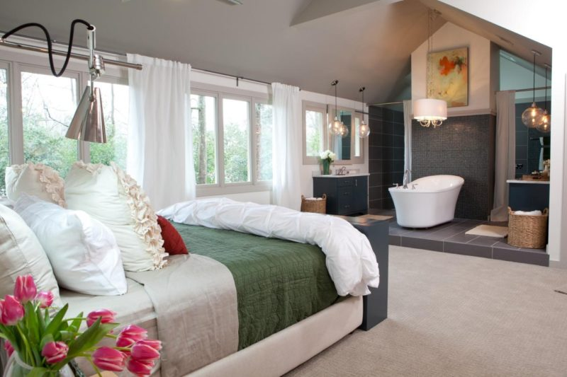 How To Make The Most of Your Attic Master Bedroom