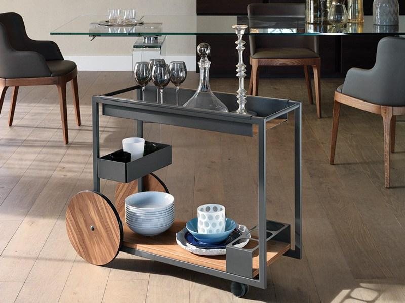 Modern bar cart designs that impress with their - Carrelli da cucina foppapedretti ...