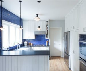 Beveled Subway Tiles Are A Quirky Alternative To The Clical Type One Which Doesn T Stray Far From Original