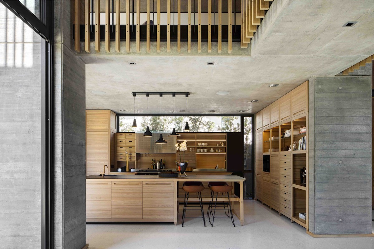 The Kitchen Has A Clerestory Window That Brings Natural Light Inside  Without Taking Up Valuable Space