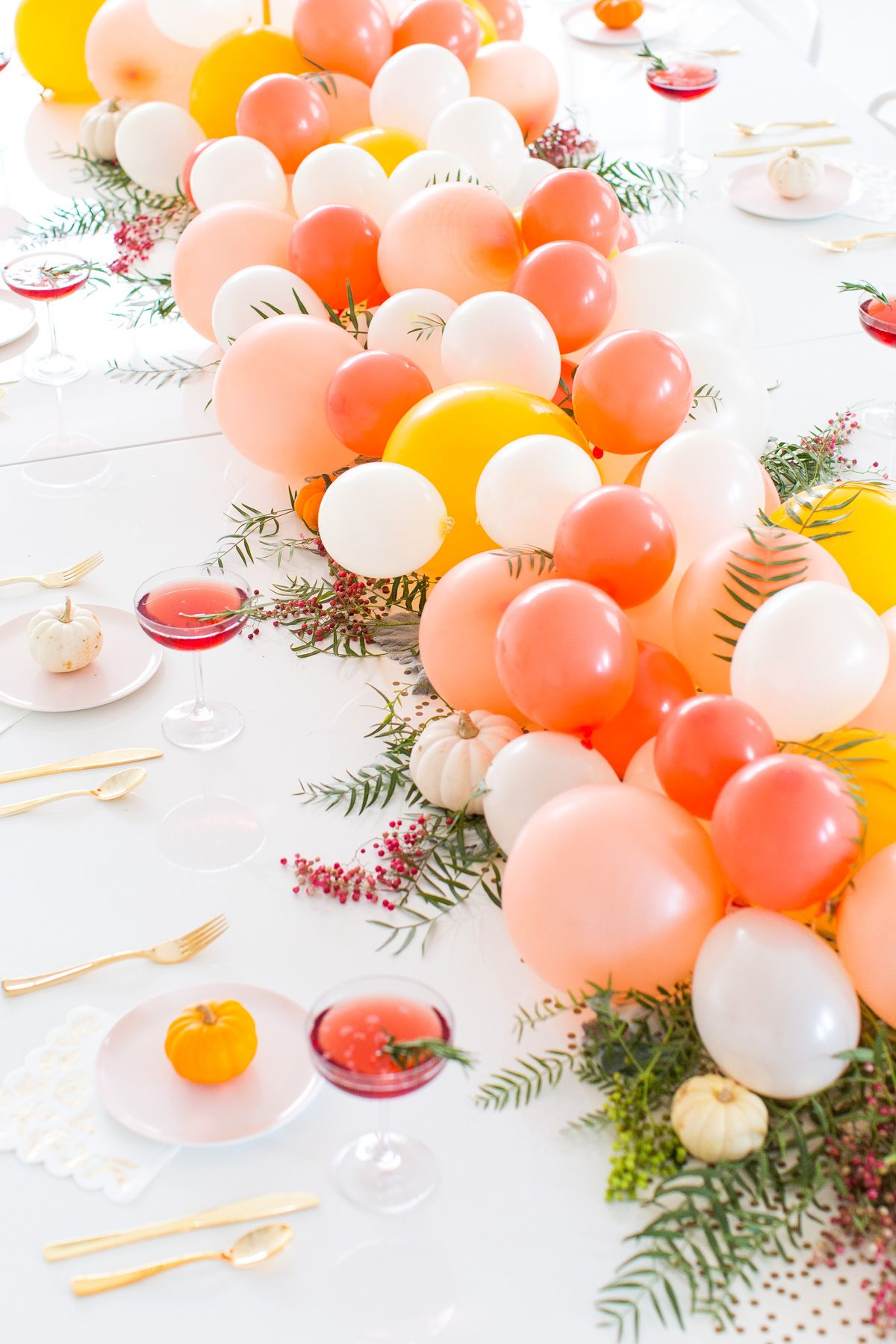 Diy Balloon Party Centerpiece