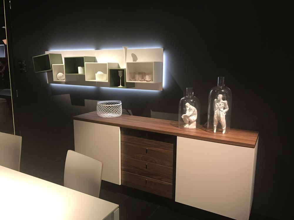 You Can Use Ambient Lighting To Unify A Set Of Wall Shelves Or Modules