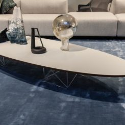 Elliptical Table ETR - oval and large coffee table