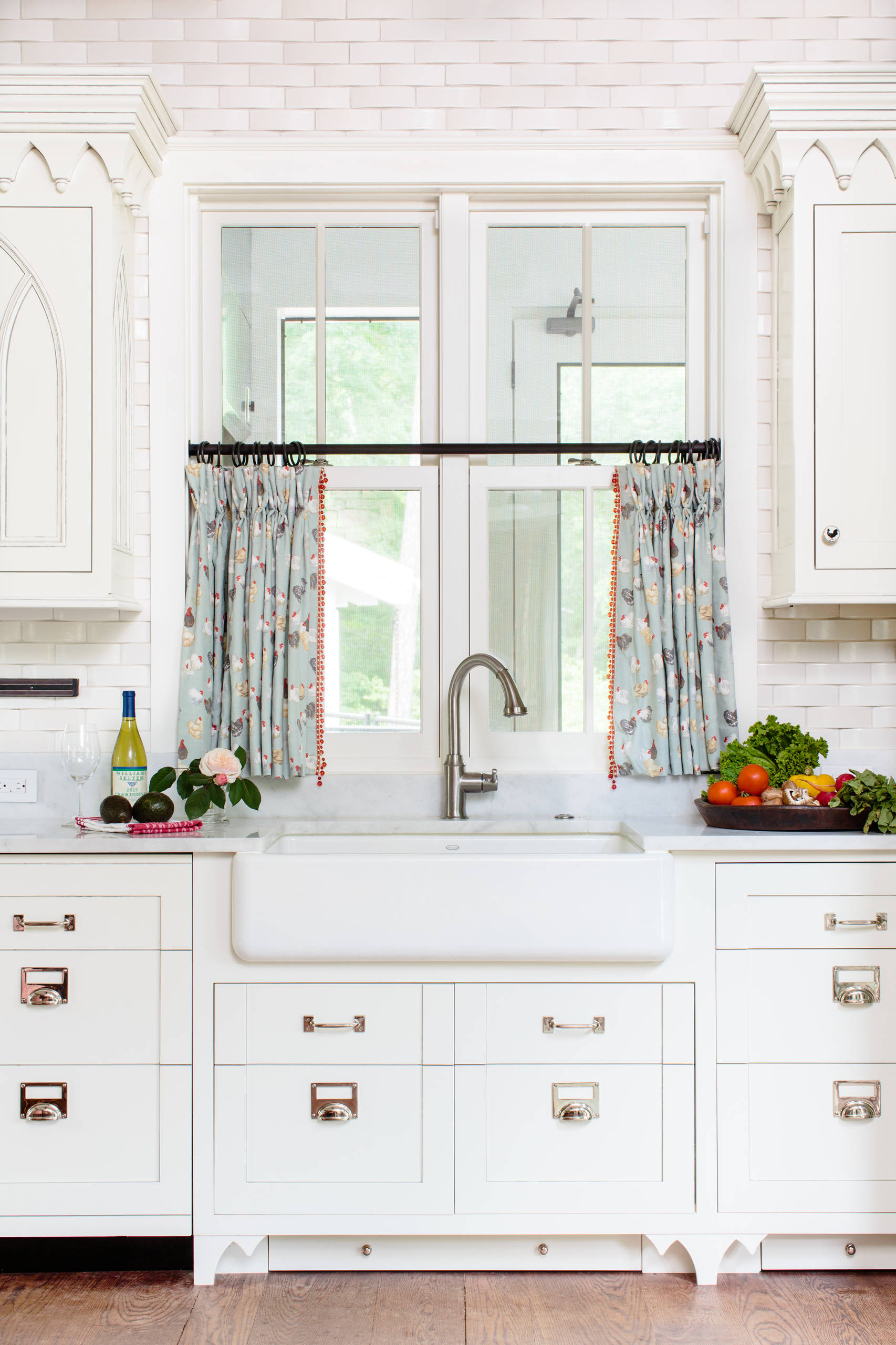 view in gallery - Kitchen Curtain