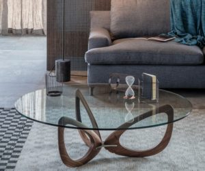 Modern Coffee Tables With Round Glass Tops And Timeless Designs