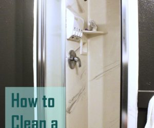 How to Clean a Shower