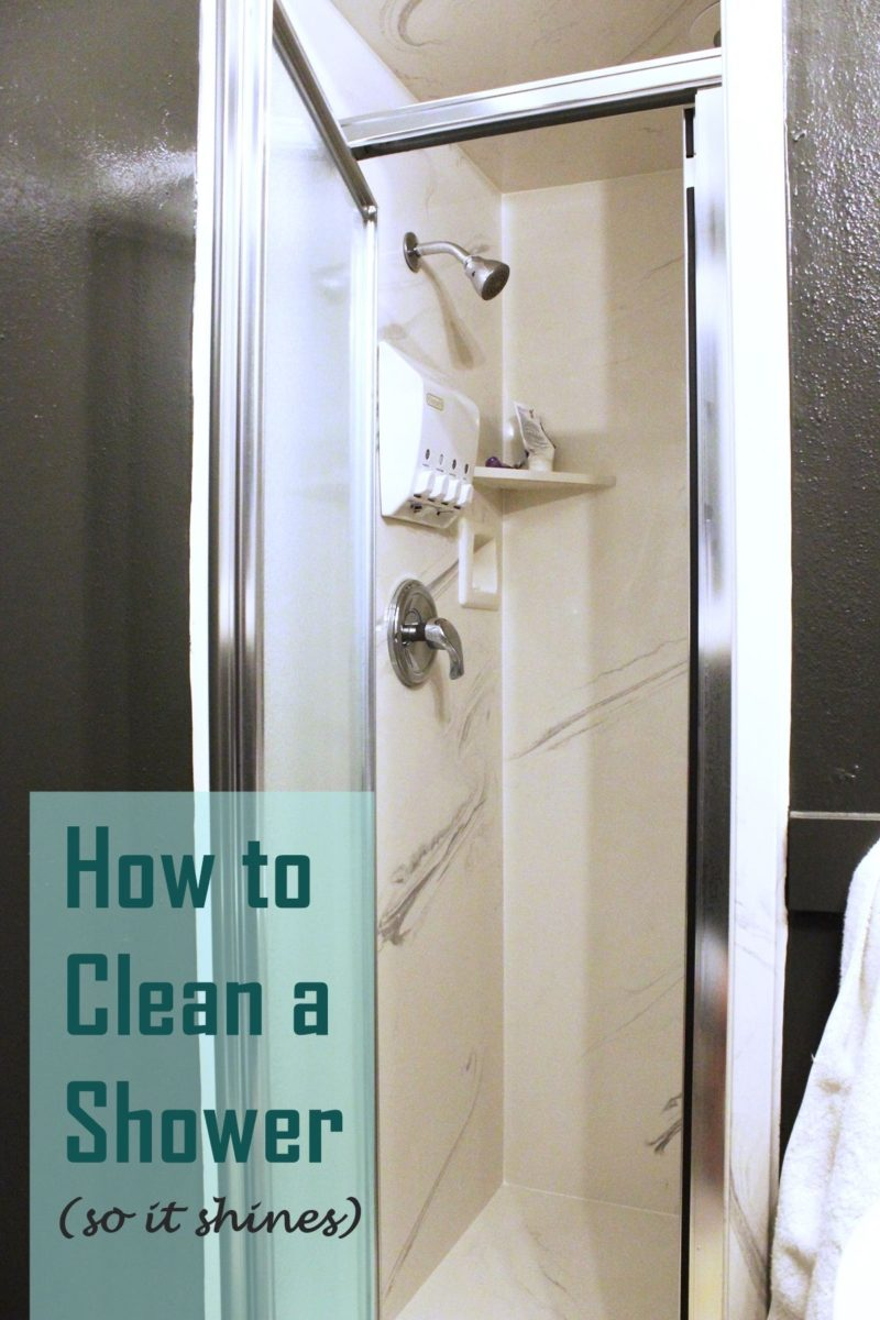 How to Clean a Shower And Best Cleaning Products