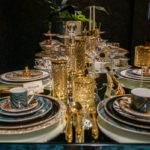 How to arrange a table with an opulent feel