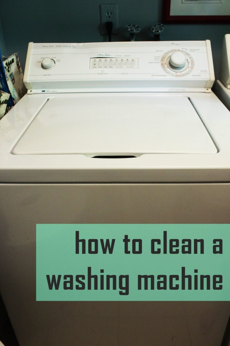 How to Clean a Washing Machine – Top-Loading