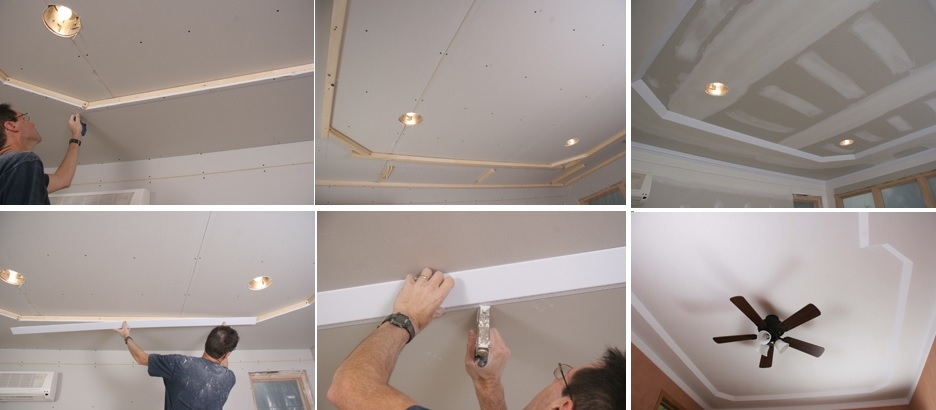 How to customize and install your own ceiling