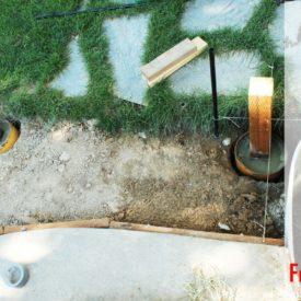 Install Concrete Deck Footings DIY