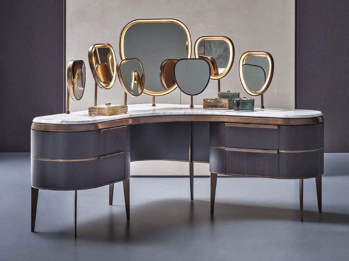 Modern Makeup Tables With Simple Yet Exquisite Designs