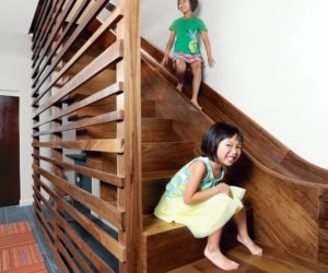 Turn The House Into A Playground Fun Slides Designed For