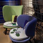 Moroso Ariel slipper chair by Edward Van Vliet