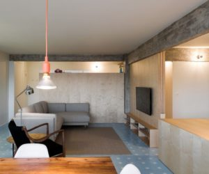 Apartment Remodel Removes Walls In Favor Of A Bright And Open Layout